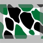Green Black Digital Pattern Art Deluxe Canvas 16  x 12   16  x 12  x 1.5  Stretched Canvas