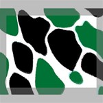 Green Black Digital Pattern Art Deluxe Canvas 20  x 16   20  x 16  x 1.5  Stretched Canvas