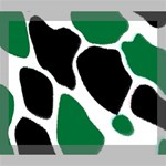 Green Black Digital Pattern Art Deluxe Canvas 24  x 20   24  x 20  x 1.5  Stretched Canvas