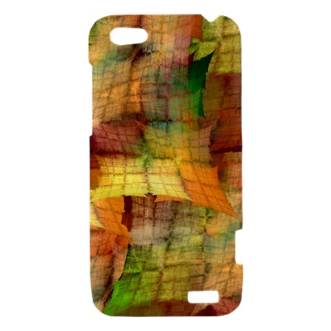 Indian Summer Funny Check HTC One V Hardshell Case