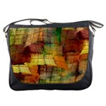 Indian Summer Funny Check Messenger Bags Front