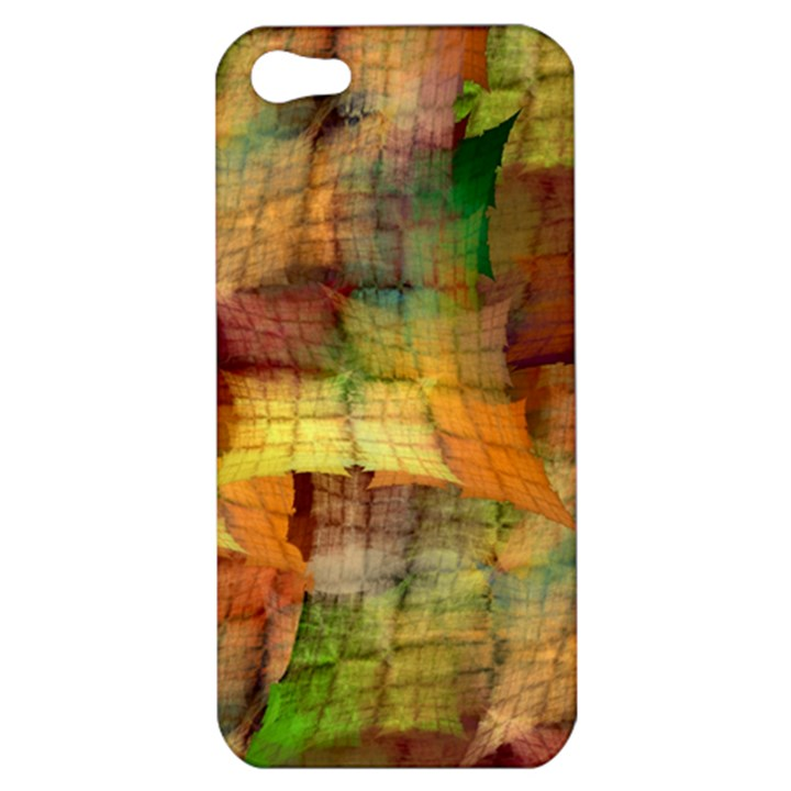 Indian Summer Funny Check Apple iPhone 5 Hardshell Case