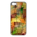 Indian Summer Funny Check Apple iPhone 5 Case (Silver) Front