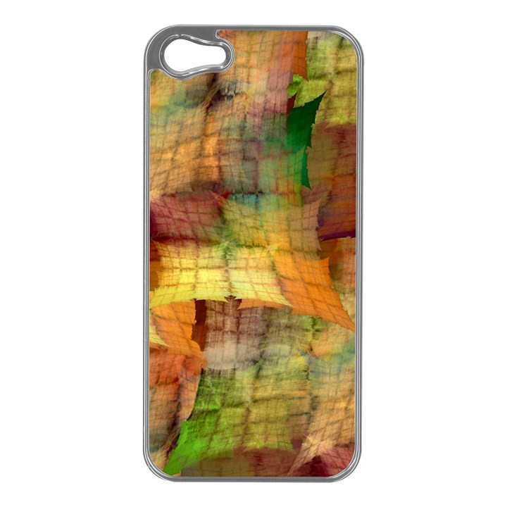 Indian Summer Funny Check Apple iPhone 5 Case (Silver)