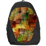 Indian Summer Funny Check Backpack Bag Front