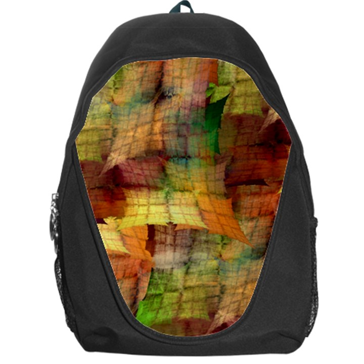 Indian Summer Funny Check Backpack Bag