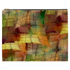 Indian Summer Funny Check Cosmetic Bag (XXXL)