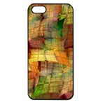 Indian Summer Funny Check Apple iPhone 5 Seamless Case (Black) Front