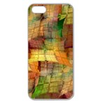 Indian Summer Funny Check Apple Seamless iPhone 5 Case (Clear) Front
