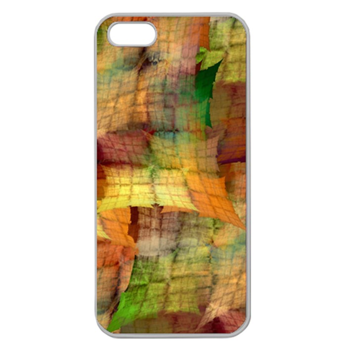 Indian Summer Funny Check Apple Seamless iPhone 5 Case (Clear)