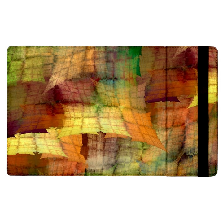 Indian Summer Funny Check Apple iPad 3/4 Flip Case