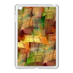 Indian Summer Funny Check Apple iPad Mini Case (White)
