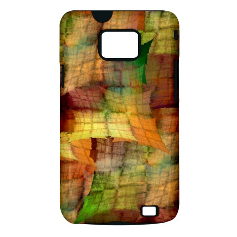 Indian Summer Funny Check Samsung Galaxy S II i9100 Hardshell Case (PC+Silicone)