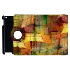 Indian Summer Funny Check Apple Ipad 2 Flip 360 Case
