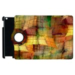 Indian Summer Funny Check Apple iPad 3/4 Flip 360 Case Front