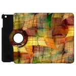 Indian Summer Funny Check Apple iPad Mini Flip 360 Case Front