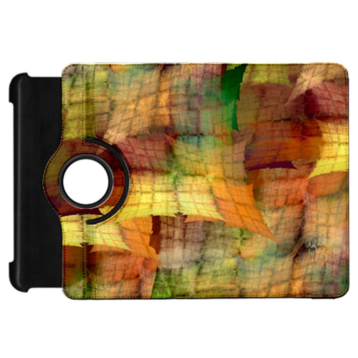 Indian Summer Funny Check Kindle Fire HD Flip 360 Case