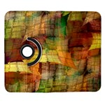 Indian Summer Funny Check Samsung Galaxy Note II Flip 360 Case Front