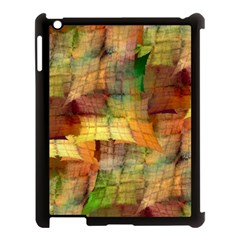 Indian Summer Funny Check Apple iPad 3/4 Case (Black)