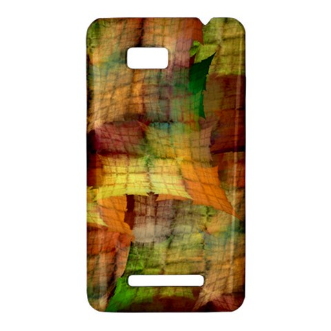 Indian Summer Funny Check HTC One SU T528W Hardshell Case