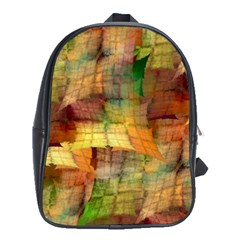 Indian Summer Funny Check School Bags (XL)