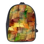 Indian Summer Funny Check School Bags (XL)  Front