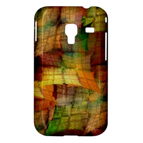 Indian Summer Funny Check Samsung Galaxy Ace Plus S7500 Hardshell Case