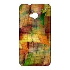 Indian Summer Funny Check HTC One M7 Hardshell Case