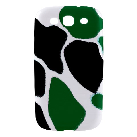 Green Black Digital Pattern Art Samsung Galaxy S III Hardshell Case
