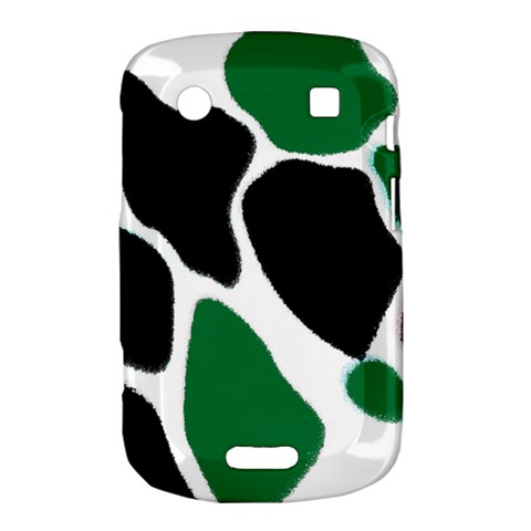 Green Black Digital Pattern Art Bold Touch 9900 9930