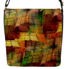 Indian Summer Funny Check Flap Messenger Bag (S)