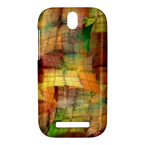 Indian Summer Funny Check HTC One SV Hardshell Case