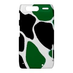 Green Black Digital Pattern Art Motorola Droid Razr XT912