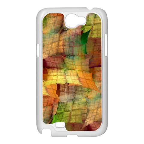 Indian Summer Funny Check Samsung Galaxy Note 2 Case (White)
