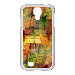 Indian Summer Funny Check Samsung GALAXY S4 I9500/ I9505 Case (White)