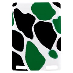 Green Black Digital Pattern Art Kindle Touch 3G