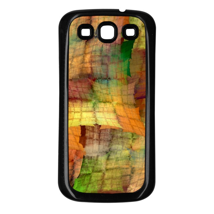 Indian Summer Funny Check Samsung Galaxy S3 Back Case (Black)