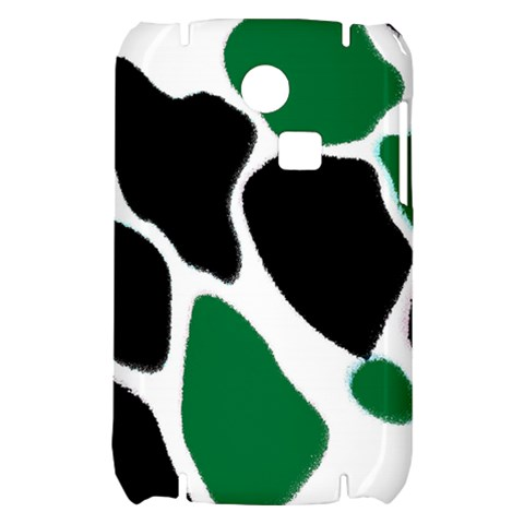 Green Black Digital Pattern Art Samsung S3350 Hardshell Case