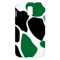 Green Black Digital Pattern Art Samsung Galaxy S II Skyrocket Hardshell Case