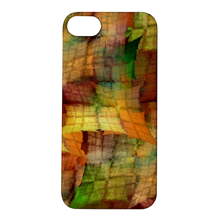 Indian Summer Funny Check Apple iPhone 5S/ SE Hardshell Case