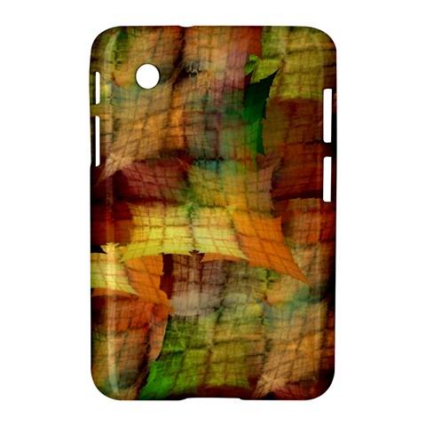 Indian Summer Funny Check Samsung Galaxy Tab 2 (7 ) P3100 Hardshell Case