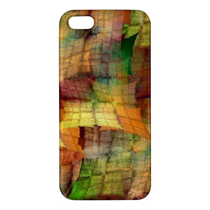 Indian Summer Funny Check iPhone 5S/ SE Premium Hardshell Case