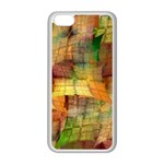 Indian Summer Funny Check Apple iPhone 5C Seamless Case (White) Front