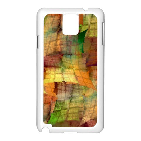 Indian Summer Funny Check Samsung Galaxy Note 3 N9005 Case (White)