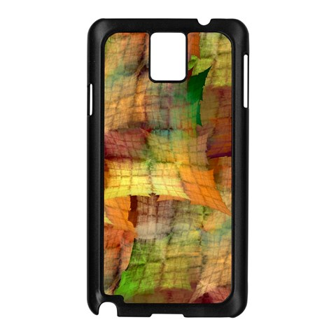 Indian Summer Funny Check Samsung Galaxy Note 3 N9005 Case (Black)