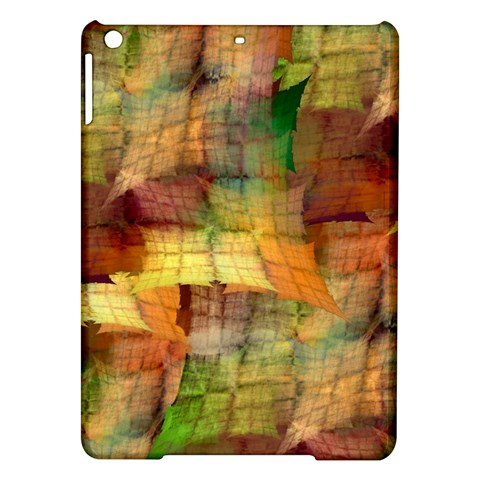 Indian Summer Funny Check iPad Air Hardshell Cases