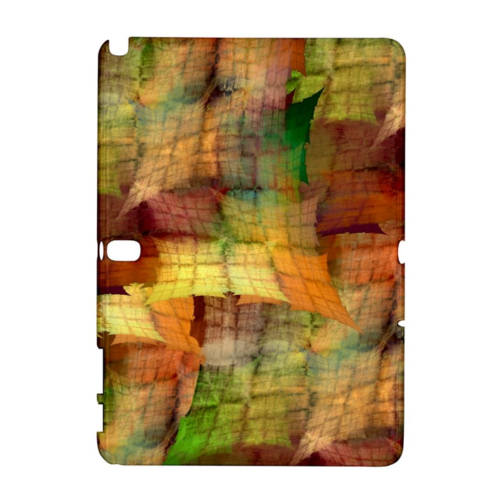 Indian Summer Funny Check Samsung Galaxy Note 10.1 (P600) Hardshell Case