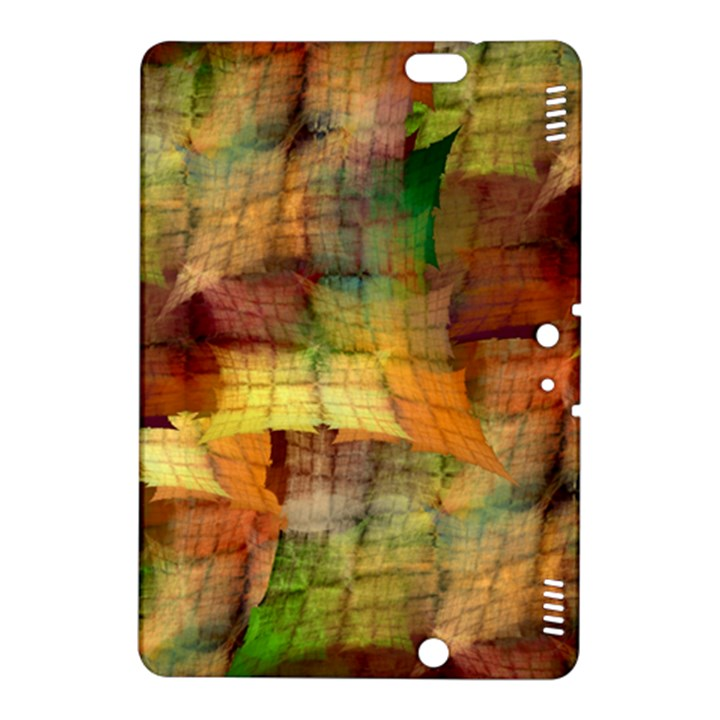 Indian Summer Funny Check Kindle Fire HDX 8.9  Hardshell Case