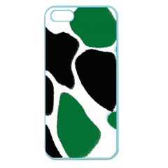Green Black Digital Pattern Art Apple Seamless iPhone 5 Case (Color)