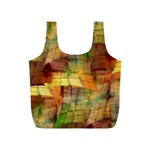 Indian Summer Funny Check Full Print Recycle Bags (S)  Front